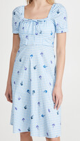 Thumbnail for your product : HVN Holland Bow Tie Cotton Dress
