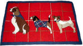 Martha Stewart Collection Holiday Dog Bath Rug Mat Red 21 X 33