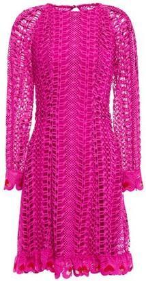 Temperley London Sunbird Guipure Lace Mini Dress