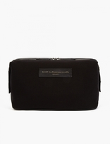 WANT Les Essentiels Black Organic Cotton 'Kenyatta' Wash Bag