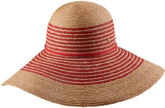 Helen Kaminski Tallulah Raffia Stripe Braided Floppy Hat