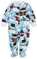 Sara's Prints Infant Unisex Snow Pals Footie - Sizes 6-24 Months