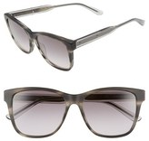 Bottega Veneta Women's 55Mm Sunglasses - Black/ Grey/ Smoke