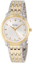Bulova Women's 98L160 Classic Two-Tone Round Watch