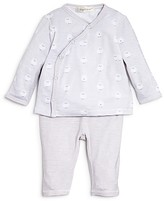 Angel Dear Infant Boys' Sheep Print Side Snap Shirt & Pants Set - Sizes Newborn-6 Months