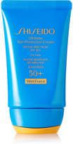 Shiseido Ultimate Sun Protection Cream Spf50 Wetforce, 50ml - Colorless