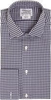 T.M.Lewin Men's Gingham Non-Iron Slim Fit Formal Shirt