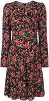 Dolce & Gabbana rose print dress - women - Viscose - 40