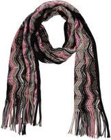 Missoni Zigzag Patterned Wool-Blend Scarf