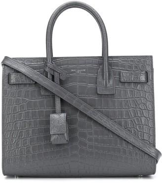 Saint Laurent mini Sac de Jour leather bag