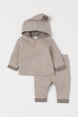 H&M Top and Pants - Brown