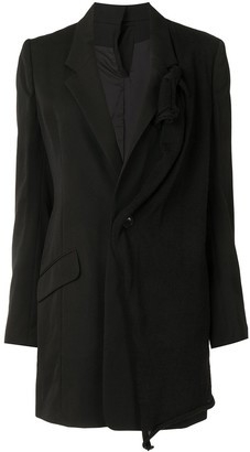 Y's Panelled Single-Breasted Blazer