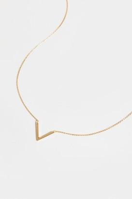 francesca's Hayden V Pendant Necklace - Gold