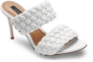 BCBGMAXAZRIA Kayla Woven Slide Sandal