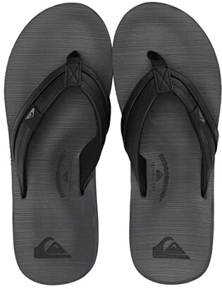 Quiksilver Carver Squish (Black/Grey/Black) Men's Sandals