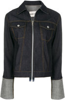 Helmut Lang zipped denim jacket