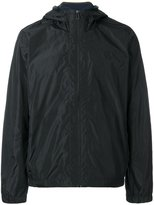Paul Smith logo patch hooded jacket
