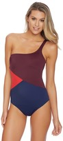 Nautica Topsail One Shoulder One Piece