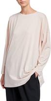 eskandar Cotton Boat-Neck Sweater
