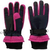Joe Fresh Kid Girls' Tech Gloves, Navy (Size L/XL)