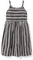 Old Navy Striped Fit & Flare Cami Dress for Girls