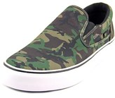 DC Trase Slip-on Sp Round Toe Canvas Sneakers.