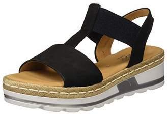 Gabor Women's Comfort Sport Ankle-Strap Wide Fit, Blue (Nightblue (Jute) 46)