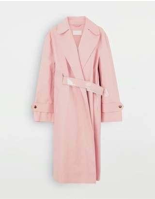 Maison Margiela Trench Coat Crafted By Mackintosh