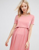 Asos Double Layer Skater Dress