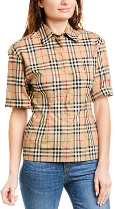 Burberry Vintage Check Stretch Shirt