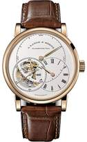 A. Lange & Söhne A. Lange and Sohne Richard Lange Tourbillon 760.032 18K Rose Gold / Leather 41.9mm Mens Watch