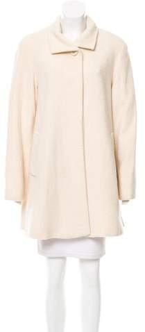Cinzia Rocca Wool Knee-Length Coat