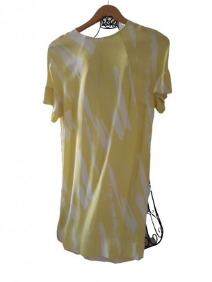Cos Yellow Dress for Women