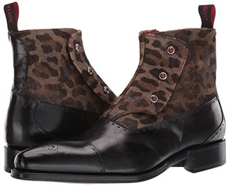 Jeffery West Lugosi (Black) Men's Shoes