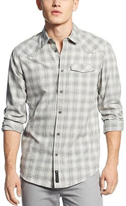 Calvin Klein Jeans Men's Plaid Armor Shirt