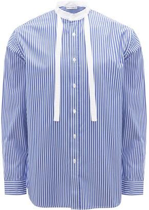 J.W.Anderson Grandad neck tie striped shirt