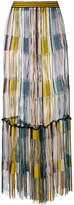 Missoni frayed knit maxi skirt