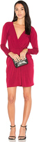 BCBGeneration Knot Dress in Red