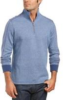 Robert Graham Abdul 1/4 Zip Classic Fit Sweater.