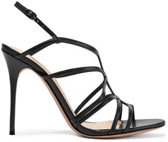 Alexandre Birman Paola Leather Slingback Sandals