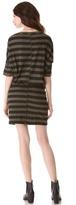 NSF Bette Striped Dress