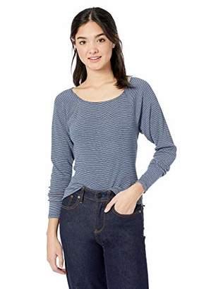 Volcom Junior's Women's Way Femme Fitted Long Sleeve Shirt