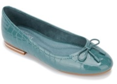 Kenneth Cole New York Women's Balance Ballet Flat with Bow Women's Shoes