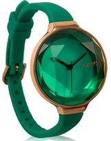 RumbaTime 817466015635 Orchard Gem Emerald Stylish Analog Watch