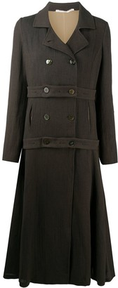 Cherevichkiotvichki Knitted Double-Breasted Coat