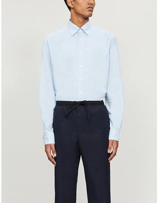 Eton Slim-fit cotton and silk-blend shirt
