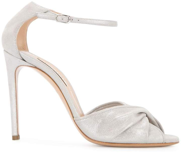 Casadei twisted front sandals