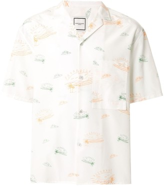 Wooyoungmi Paradise graphic-print shirt