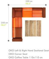Mamagreen Oko Sectional Lounge Configuration D