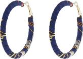 Accessorize Oriental Wrapped Hoop Earrings